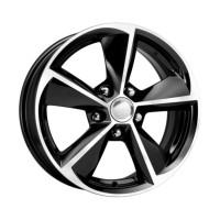 KIK / Civic 6,5х16 ЕТ45 5х114,3 d64,1 алмаз черный КС681