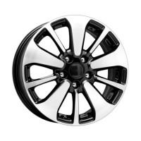 KIK / 6.5x16 et38 5*114.3 d67.1 Peugeot 4008(КС688) Алмаз черный Арт.64744