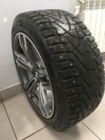 Pirelli / Комплект в сборе Диски BMW Replay 245/45R18 Pirelli Ice Zero(Б/У)