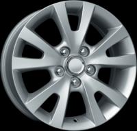 KIK / 6.5x16 et52,5 5*114.3 d67.1 Mazda-3(КС396) Сильвер Арт.5824