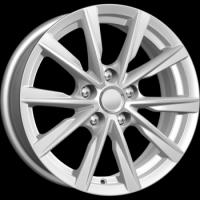 KIK / 6.5x16 et38 5*114.3 d67.1 ZV16 Peugeot 4008(КС682) Сильвер Арт.64446